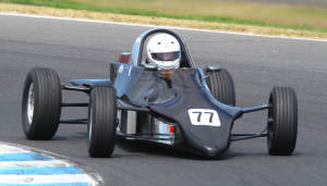 Jennifer will drive the Ecurie Australie 'Black Beauty' Reynard FF84 in Phillip Island.